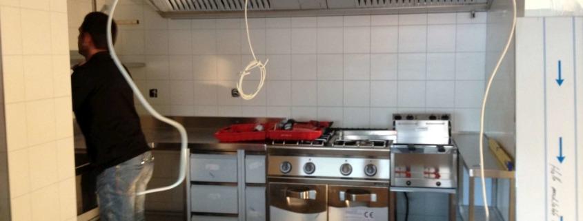 Construction de cuisine