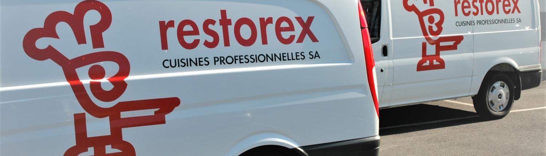 Véhicules service après vente Restorex Valais